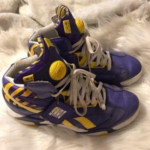 Original Shaq Attaq LSU Tigers Sneakers Size 9.5